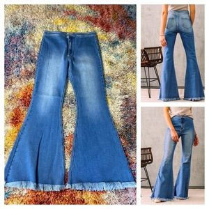 NWOT KanCan ultra high rise extreme flare jeans